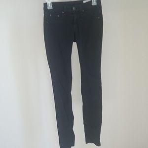 Rag & bone black jean leggings